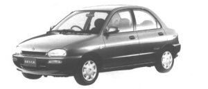 Mazda Revue S LIMITED 1998 г.
