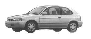 Toyota Corolla II 1500EFI 1998 г.