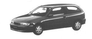 Nissan Lucino S-RV 3DOOR HATCHBACK JJ 1998 г.