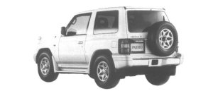 Mitsubishi Pajero METAL TOP ZR 1998 г.