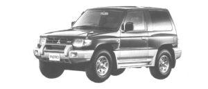 Mitsubishi Pajero METAL TOP ZX 1998 г.