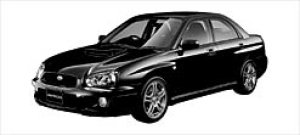 Subaru Impreza WRX 2003 г.