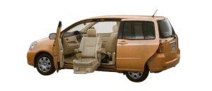 Toyota Raum Welcab, Passenger Lift-up Car (Panorama type), A type 2008 г.