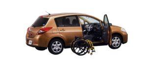 Nissan Tiida Driving helper Autech drivegear type e15M 2009 г.
