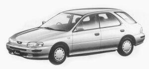 Subaru Impreza SPORT WAGON 1.6L CS 1993 г.