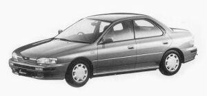 Subaru Impreza HARD TOP SEDAN 1.5L CX 1993 г.