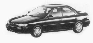 Subaru Impreza 4WD HARD TOP SEDAN 1.8L HX 1993 г.
