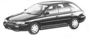 Subaru Impreza 4WD SPORT WAGON 1.8L HS 1992 г.