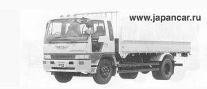 Hino Ranger CRUISING FG 8T 1990 г.
