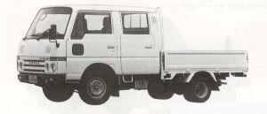 Nissan Atlas 1.0T LONG SUPER LOW DOUBLE CAB 1990 г.