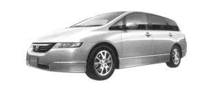 Honda Odyssey L FF 2004 г.