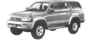 Toyota Hilux Surf 2.7 GASOLINE SSR-V WIDE BODY 1997 г.