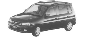 Mazda Ford Festiva MINI WAGON SX SPORT 1997 г.
