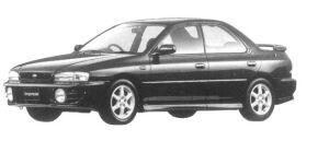 Subaru Impreza HARD TOP SEDAN HX-20S 1997 г.