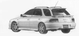 Subaru Impreza PURE SPORTS WAGON WRX STi Version VI 1999 г.