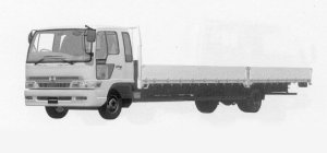 Hino Ranger SPACE FD WIDE CAB, ULTRA LONG 1999 г.