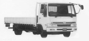 Hino Ranger SPACE FC WIDE CAB 1999 г.