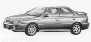 Subaru Impreza HARDTOP SEDAN SRX 1999 г.