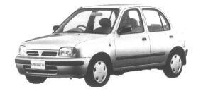 Nissan March 5 door 1000 i z-f 1995 г.