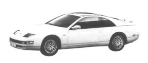 Nissan Fairlady Z Version S 2by2 T Bar Roof 1995 г.