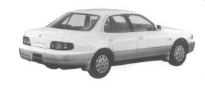 Toyota Scepter Sedan 2.2 1995 г.