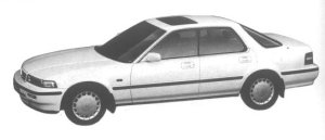 Honda Vigor 25W 1994 г.