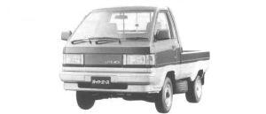 Toyota Liteace Truck SUPER SINGLE 750KG 1500 SUPER X 1994 г.