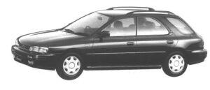 Subaru Impreza 4WD SPORT WAGON 1.8L HX EDITION-L 1994 г.