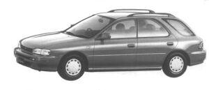Subaru Impreza SPORT WAGON 1.5L CS 1994 г.