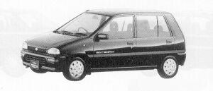 Subaru REX 5DOOR SEDAN CX-I ECVT 1991 г.
