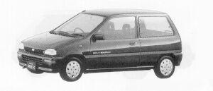 Subaru REX 3DOOR SEDAN AX-I ECVT 1991 г.