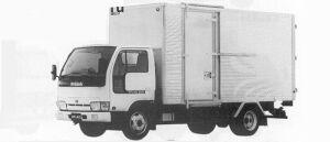 Nissan Atlas 2.0T ALUMI DRY VAN 1991 г.