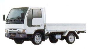 Nissan Atlas 10 Full Super Low, Long Body, Wooden Carrier 2005 г.