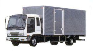 Isuzu Forward  Smoother-F 140kW (190PS) Dry Van, Intercooler Turbo 2005 г.