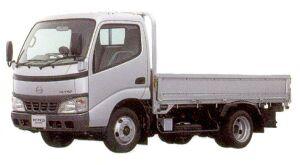 Hino Dutro Standard-width Cab, Standard  Length, Full  low  Floor, Gasoline Engine 2005 г.