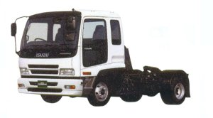 Isuzu Forward Semi-tractor, 177kW (2400PS), Intercooler Turbo 2005 г.