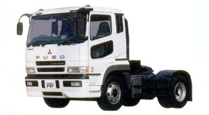 Mitsubishi Fuso SUPER GREAT FP Air Suspension Semi-tractor for Expressway 2005 г.