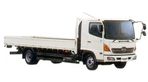 Hino Ranger GX Low Floor Full-taim 4WD 6 ton 2005 г.