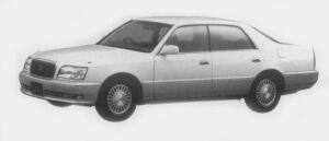Toyota Crown Majesta F TYPE 1996 г.